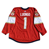 Florida Panthers Noel Acciari Luongo Retirement Night Warmup Jersey