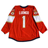 Florida Panthers Keith Yandle Luongo Retirement Night Warmup Jersey