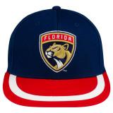Florida Panthers Emblem Patch Flat Bill Cap