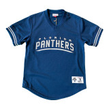 mesh championship v-neck shirt mitchell and ness
