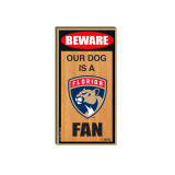 florida panthers pet wood sign