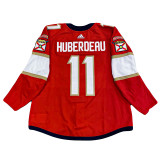 Florida Panthers Jonathan Huberdeau Game Used Home Jersey - Set 3