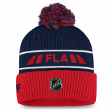 Florida Panthers Authentic Pro Locker Room Knit Beanie Pom