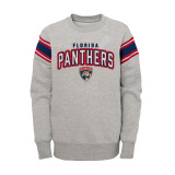 Florida Panthers Juvenile Ribbed Rollover Crew Sweatshirt
