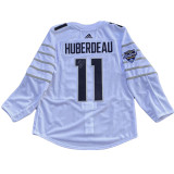 Florida Panthers Game Issued Autographed Jonathan Huberdeau 2019 All Star Jersey White