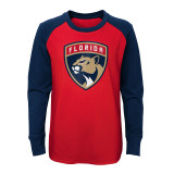 Florida Panthers Youth Undisputed Long Sleeve Shirt