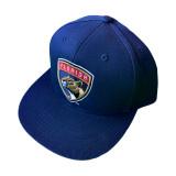 Florida Panthers Repeat Logo Brim Snapback Cap
