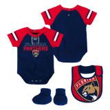 Florida Panthers Infant Little D Bodysuit, Bib & Bootie Set