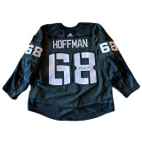 Florida Panthers Mike Hoffman Game Used Military Appreciation Warmup Jersey (Autographed)