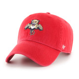 Florida Panthers Third Logo Red Clean Up Cap