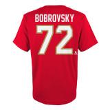 Florida Panthers Youth #72 Sergei Bobrovsky Name &  Number Shirt