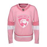 Florida Panthers Toddler Girls Pink Jersey