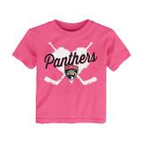 Florida Panthers Toddler Girls Hearts Over Shirt