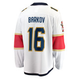 Florida Panthers #16 Aleksander Barkov Breakaway Away Replica Jersey