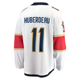 Florida Panthers #11 Jonathan Huberdeau Breakaway Away Replica Jersey