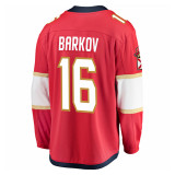 Florida Panthers #16 Aleksander Barkov Breakaway Home Replica Jersey