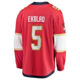 Florida Panthers #5 Aaron Ekblad Breakaway Home Replica Jersey