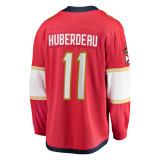 Florida Panthers #11 Jonathan Huberdeau Breakaway Home Replica Jersey
