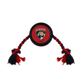 Florida Panthers Dog Hockey Puck Rope Toy
