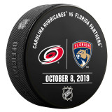 Florida Panthers vs Carolina Hurricanes 10/8/20 Warmup Puck