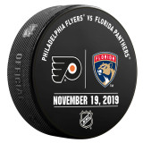 Florida Panthers vs Philadelphia Flyers 11/19/19 Warmup Puck