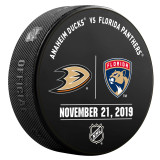 Florida Panthers vs Anaheim Ducks 11/21/19 Warmup Puck