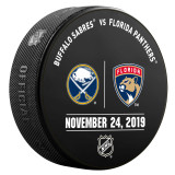 Florida Panthers vs Buffalo Sabres 11/24/20 Warmup Puck