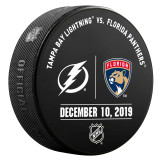 Florida Panthers vs Tampa Bay Lightning 12/10/19 Warmup Puck