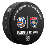 Florida Panthers vs New York Islanders 12/12/19 Warmup Puck
