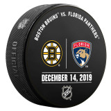 Florida Panthers vs Boston Bruins 12/14/19 Warmup Puck