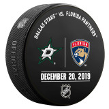 Florida Panthers vs Dallas Stars 12/20/19 Warmup Puck