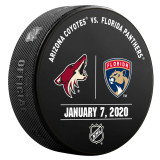 Florida Panthers vs Arizona Coyotes 1/7/20 Warmup Puck