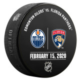 Florida Panthers vs Edmonton Oilers 2/15/20 Warmup Puck