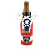 Florida Panthers Red Laces Bottle Cooler