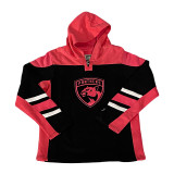 Florida Panthers Youth Girls Blush Hood Sweatshirt