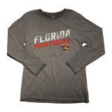 Florida Panthers Antique Wash Slanted Long Sleeve Shirt