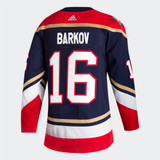 Florida Panthers Reverse Retro #16 Aleksander Barkov Adidas Authentic Jersey