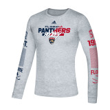 Florida Panthers Fade to Fade Long Sleeve Shirt
