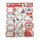 Florida Panthers Holiday Gift Tags