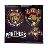 Florida Panthers 4 Piece Magnet Kit