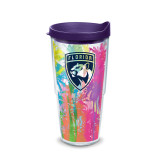 Florida Panthers Neon Palm Tree 24 oz Tumbler