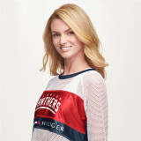Florida Panthers Tommy Hilfiger Women's Mesh Long Sleeve Top