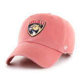 Florida Panthers Primary Logo Island Red Clean Up Cap