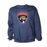 Florida Panthers Logo Crew Sweatshirt