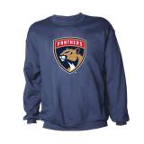 Florida Panthers Logo Crew Sweatshirt