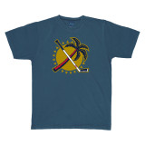 Florida Panthers Palm Tree Navy Shirt