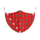 Florida Panthers Christmas Face Covering