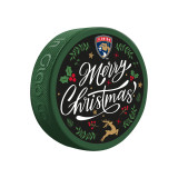 Florida Panthers Christmas Puck