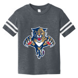 Florida Panthers Toddler Retro Navy Football Shirt