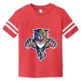 Florida Panthers Toddler Retro Red Football Shirt